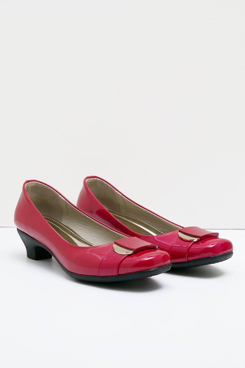 Ghirardelli Heels Veda Red