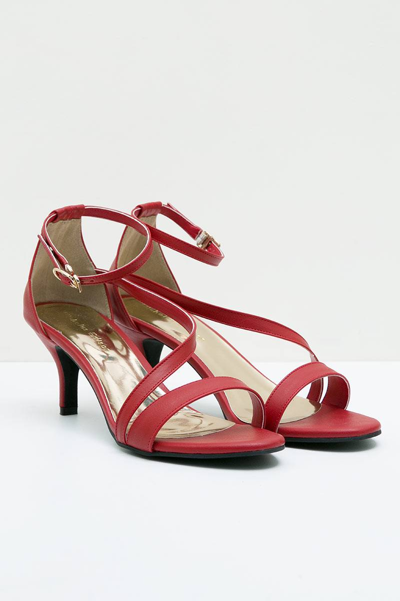 HEEL KATTY RED