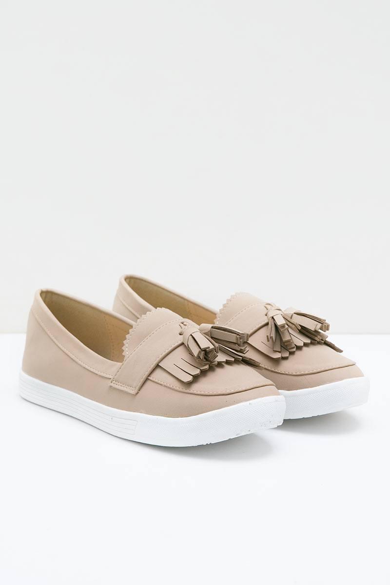 Erninda Sneakers Bymar BEIGE