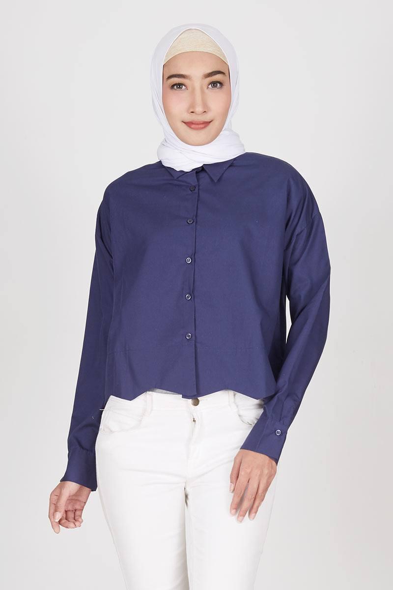 Shabina Shirt Navy