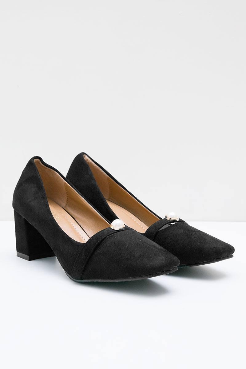 Felisa Heels Bymar BLACK