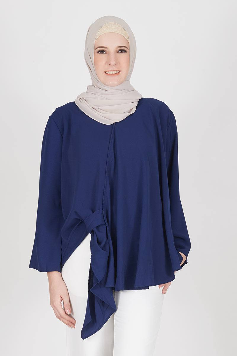 Navy Rania Top