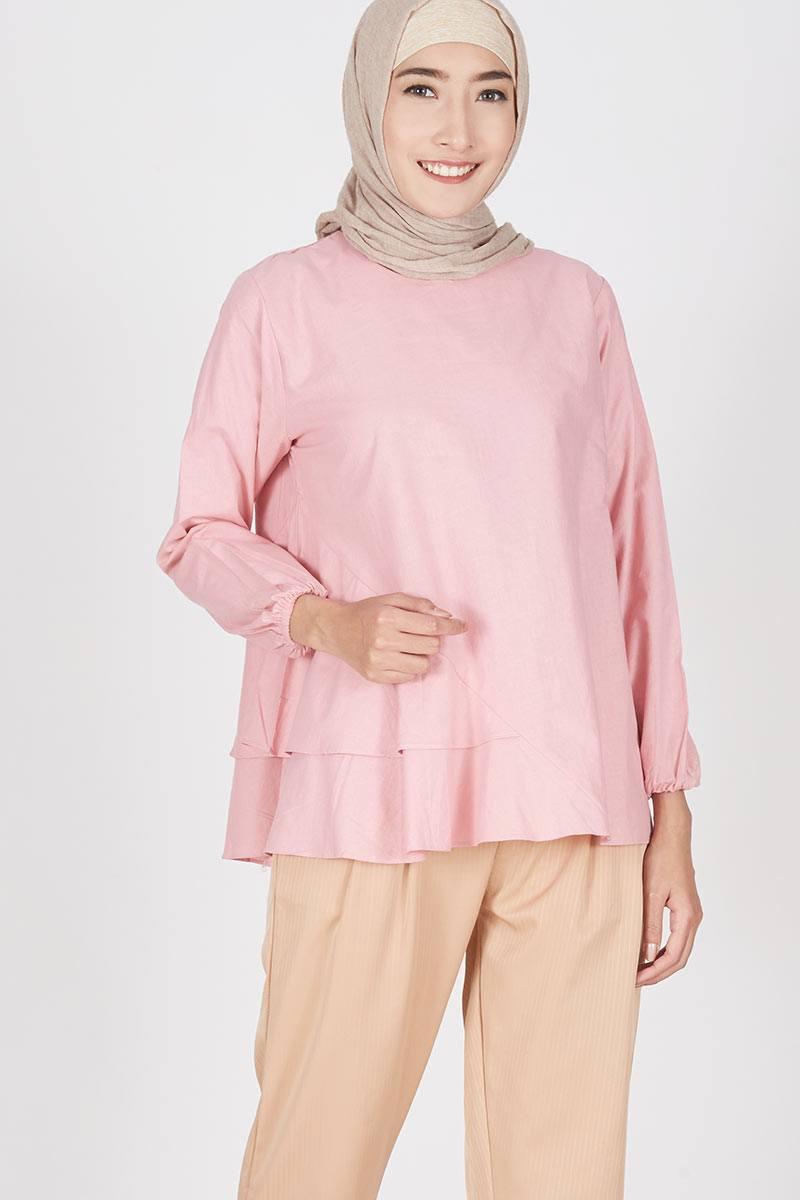 Harga Rania Etha Pants Celana Panjang Wanita Hijabenka Freja Top Pink