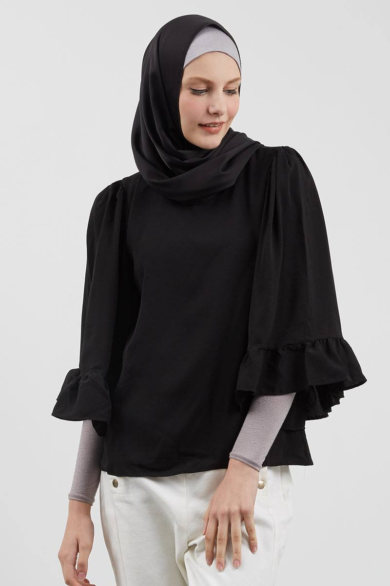 Jalena Top Black