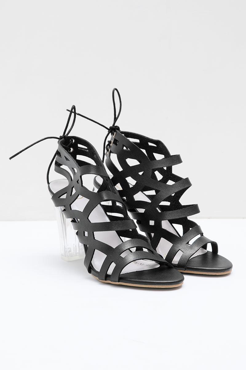 Inna Heels Bymar BLACK