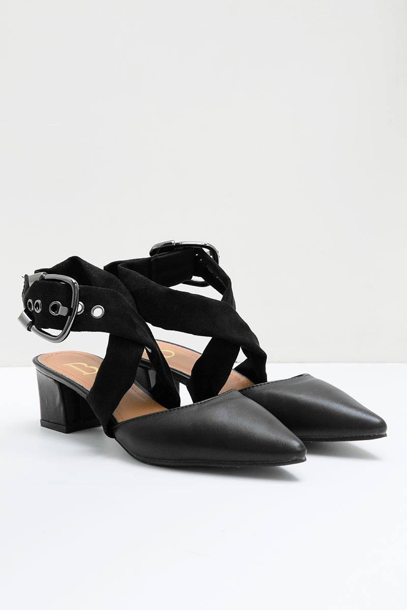 Kadhia Heels Bymar BLACK