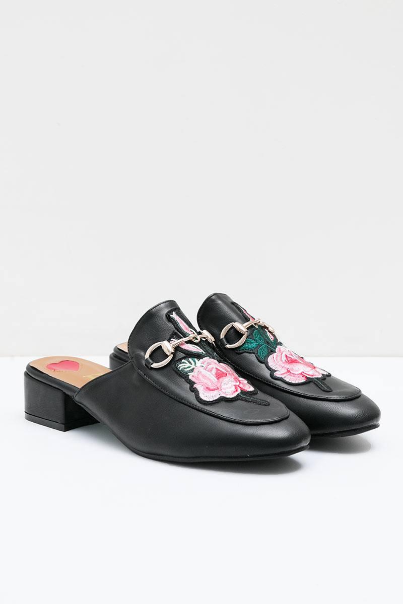 Keara Heels Bymar BLACK