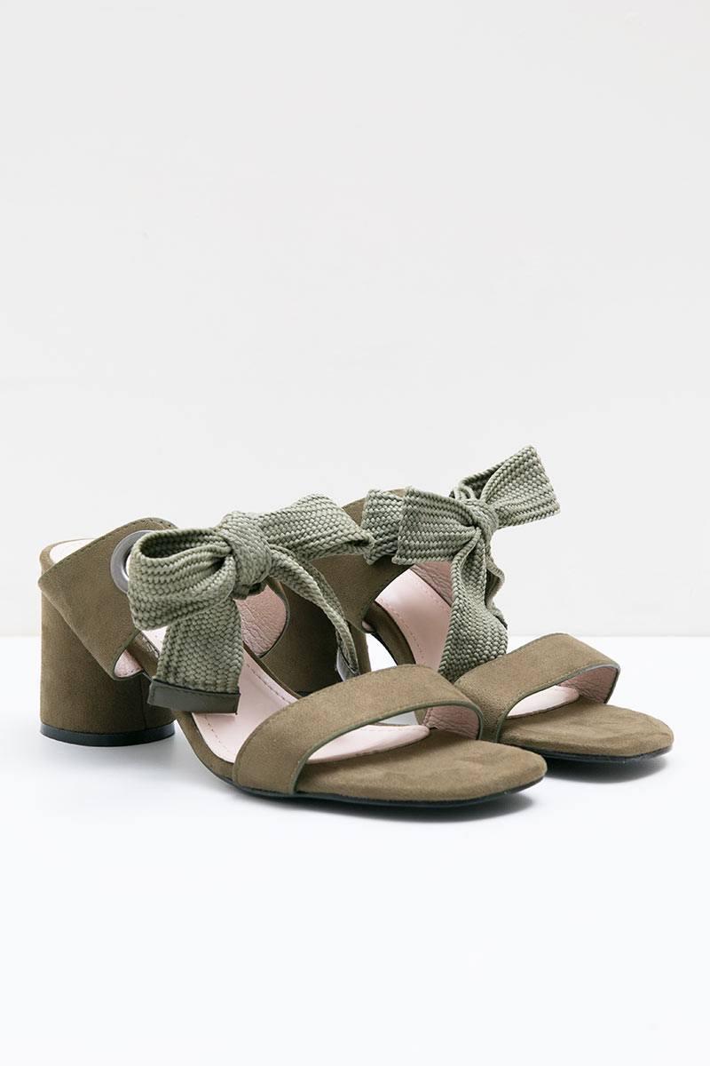 Leah Heels Bymar OLIVE