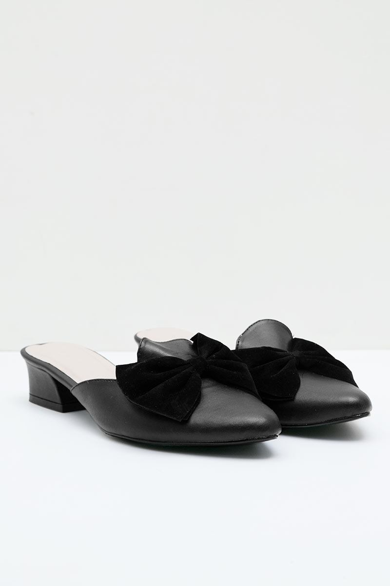 Prada Mules Heels in Black