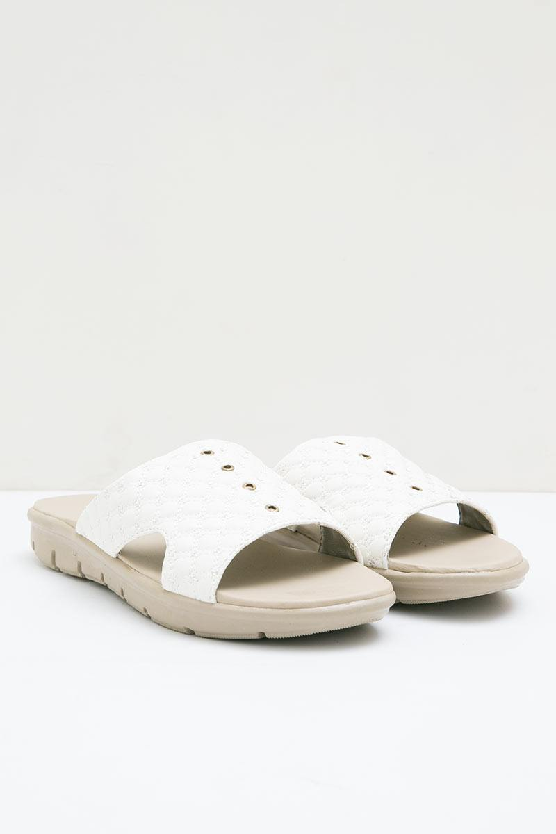 DrKevin Leather 27322 Loafers Sandals White