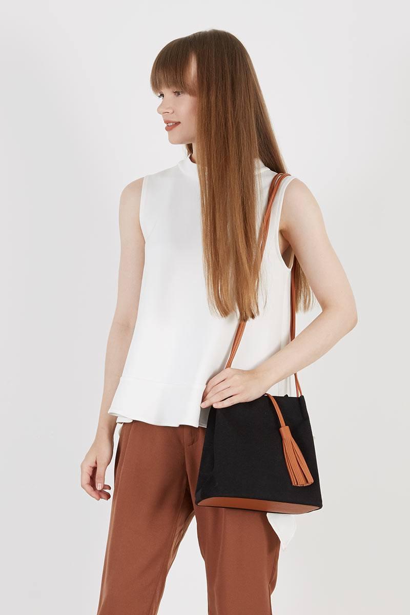 231176 shanni sling bag black black mljib