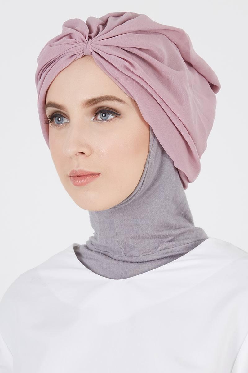 Page 86 Daftar Harga Hijab Termurah Dan Terbaru Hijabenka Freja Top Dim Plain Turban Baby Purple