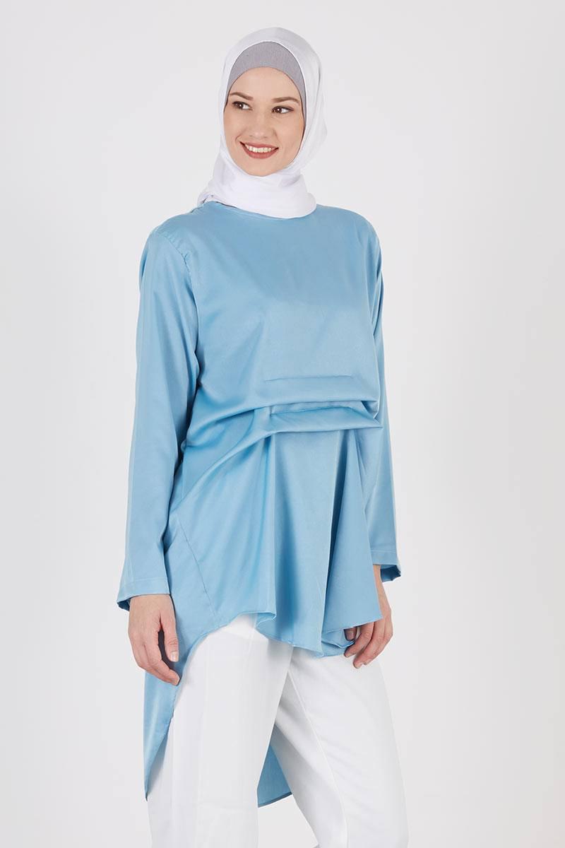 Raisha Top Blue