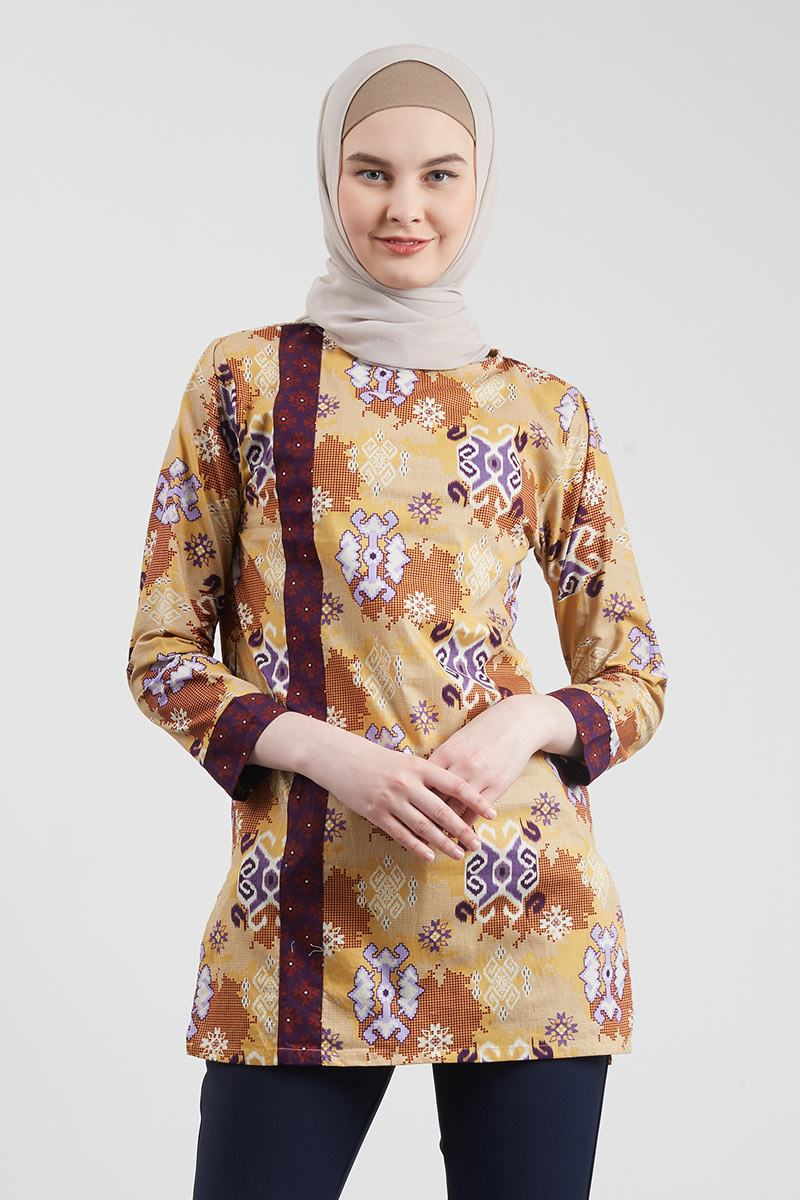 Blouse Batik Abstrak