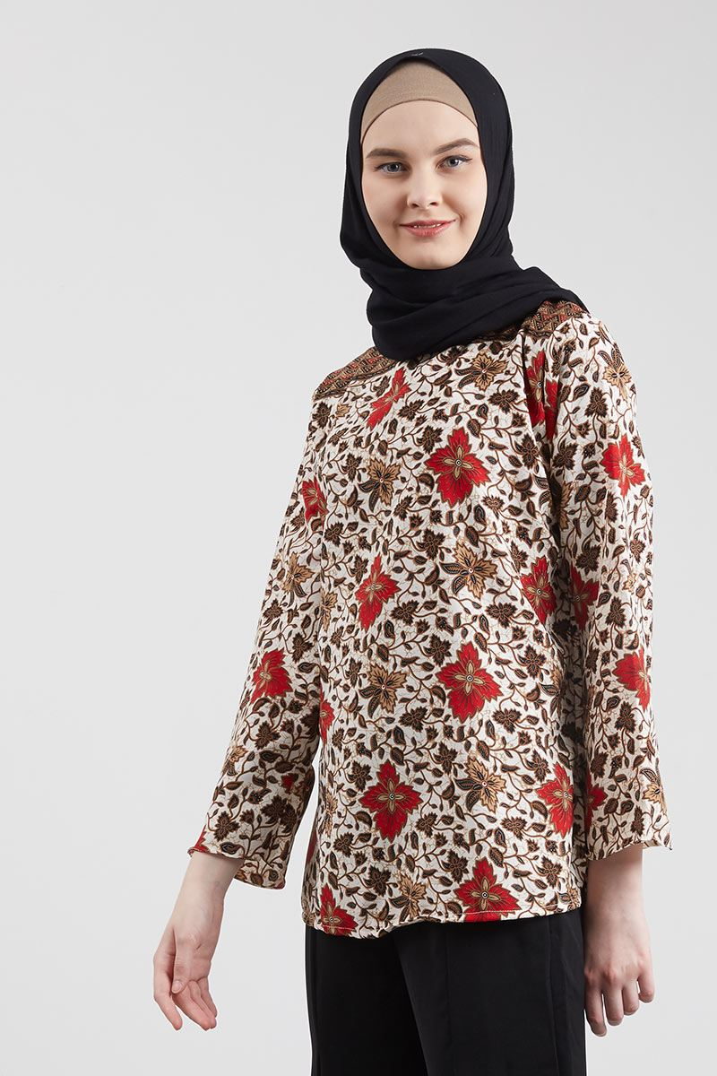 Blouse Batik Naruka