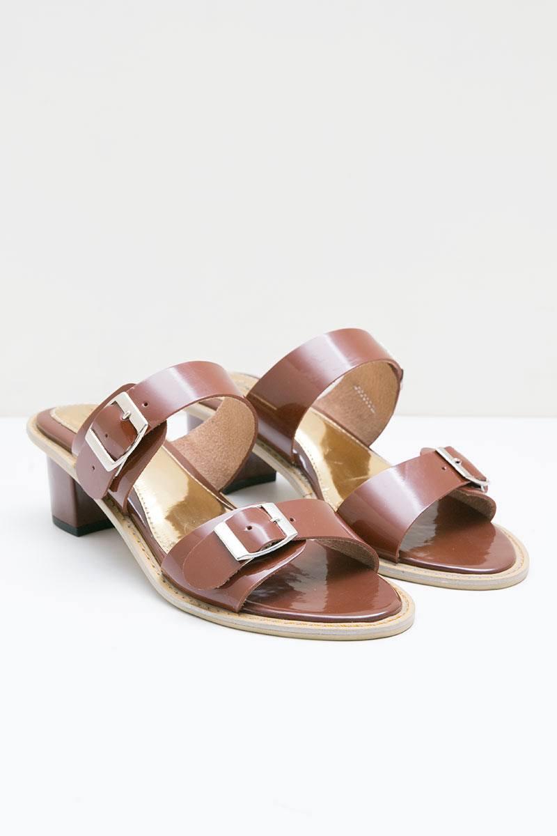 Chelsea Heels Sandal Brown