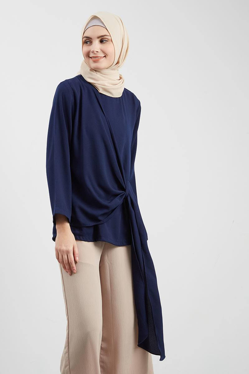 Marya Top Navy