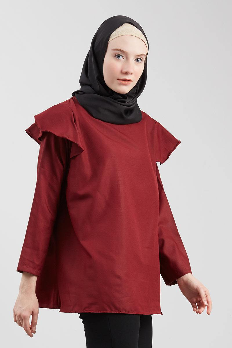 Amaru Bella Top Maroon