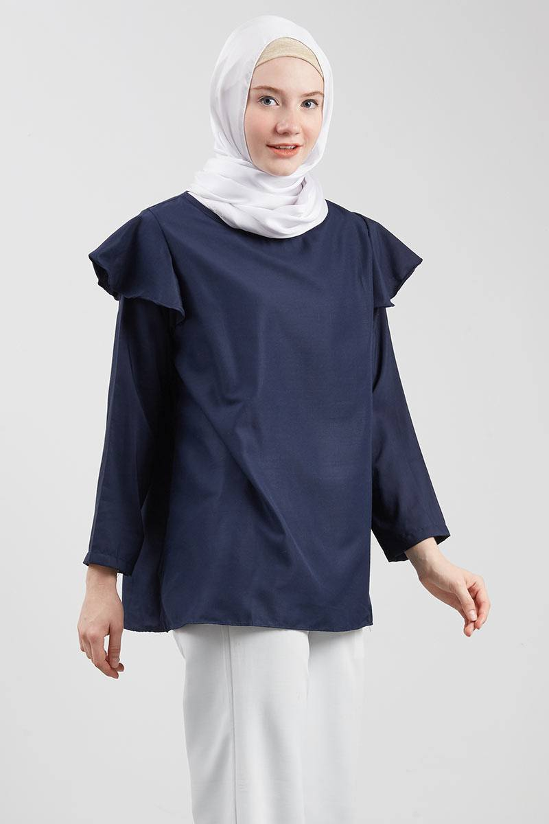Amaru Bella Top Navy