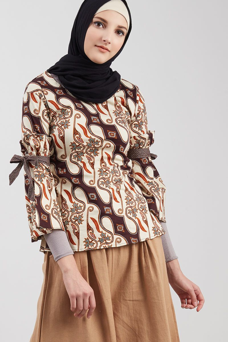 Blouse Batik Brown