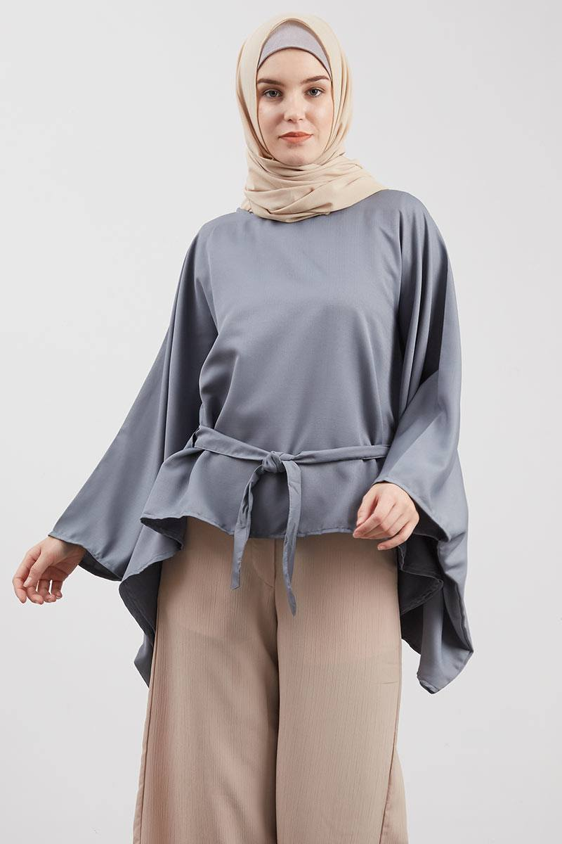 Blouse Butterfly Pita Grey