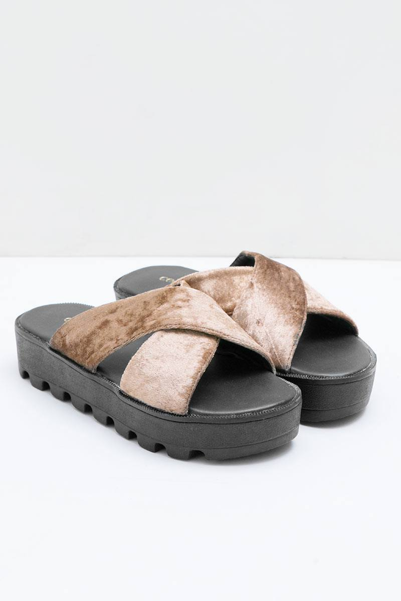 MIRELLA SANDAL BROWN
