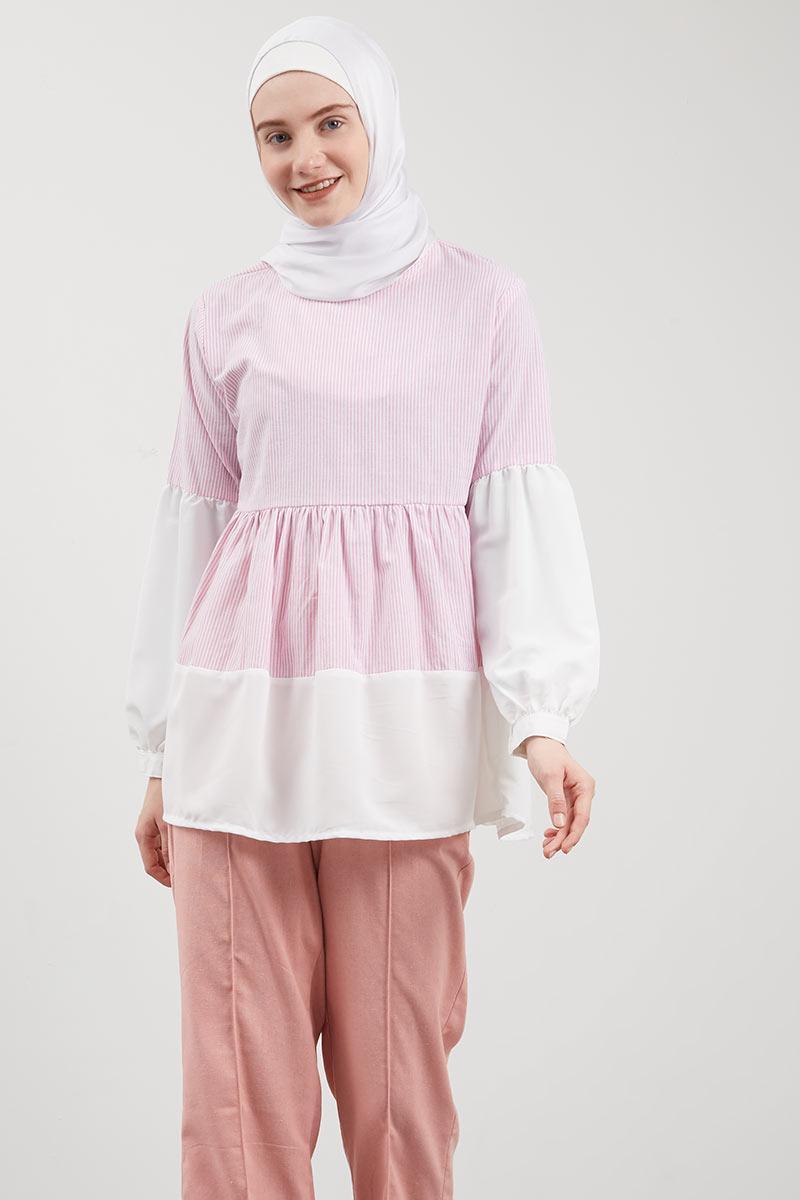 Neela Top Pink