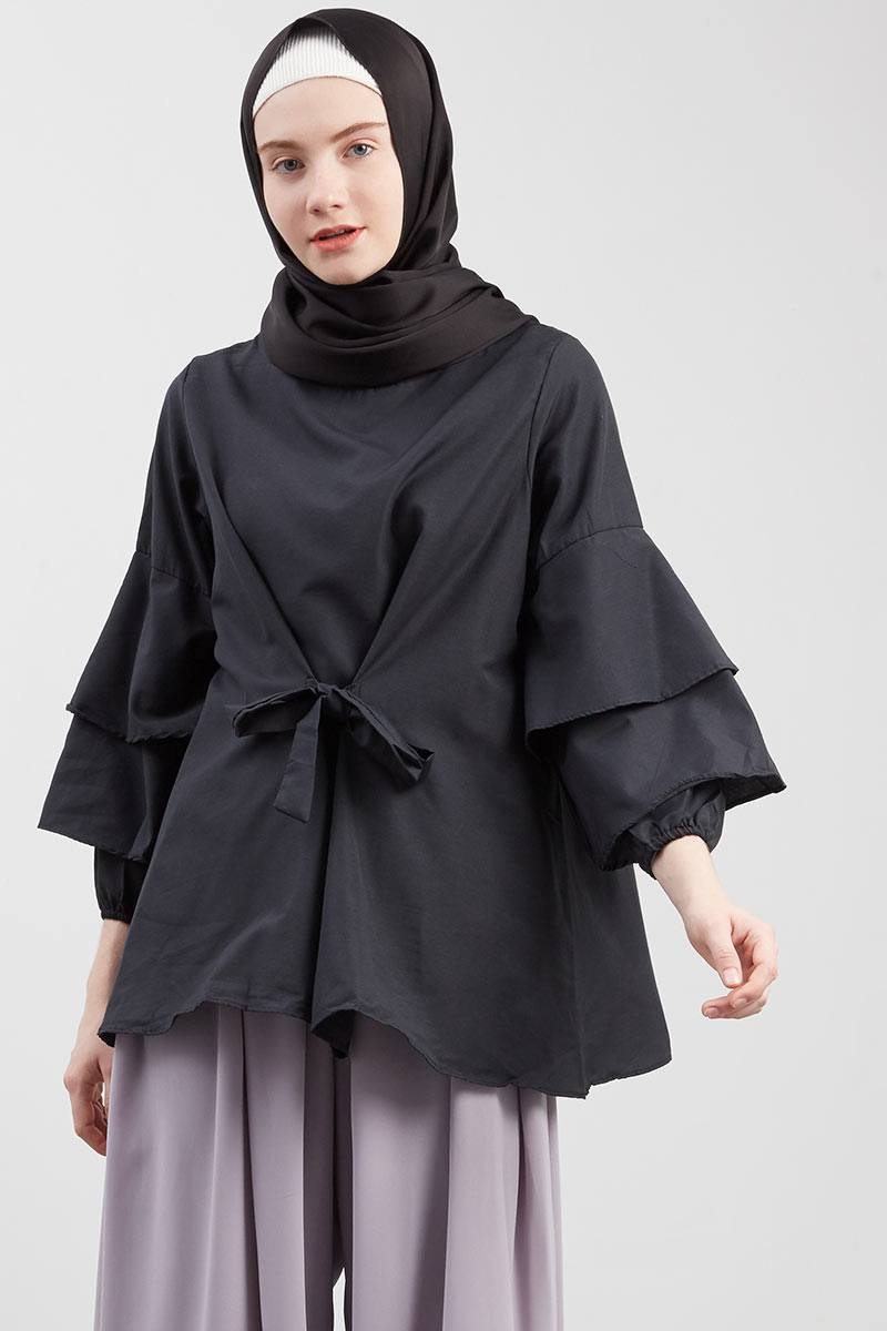 Moana Blouse Black