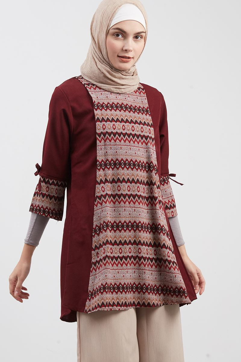 Ethnic Elite Tunic Red
