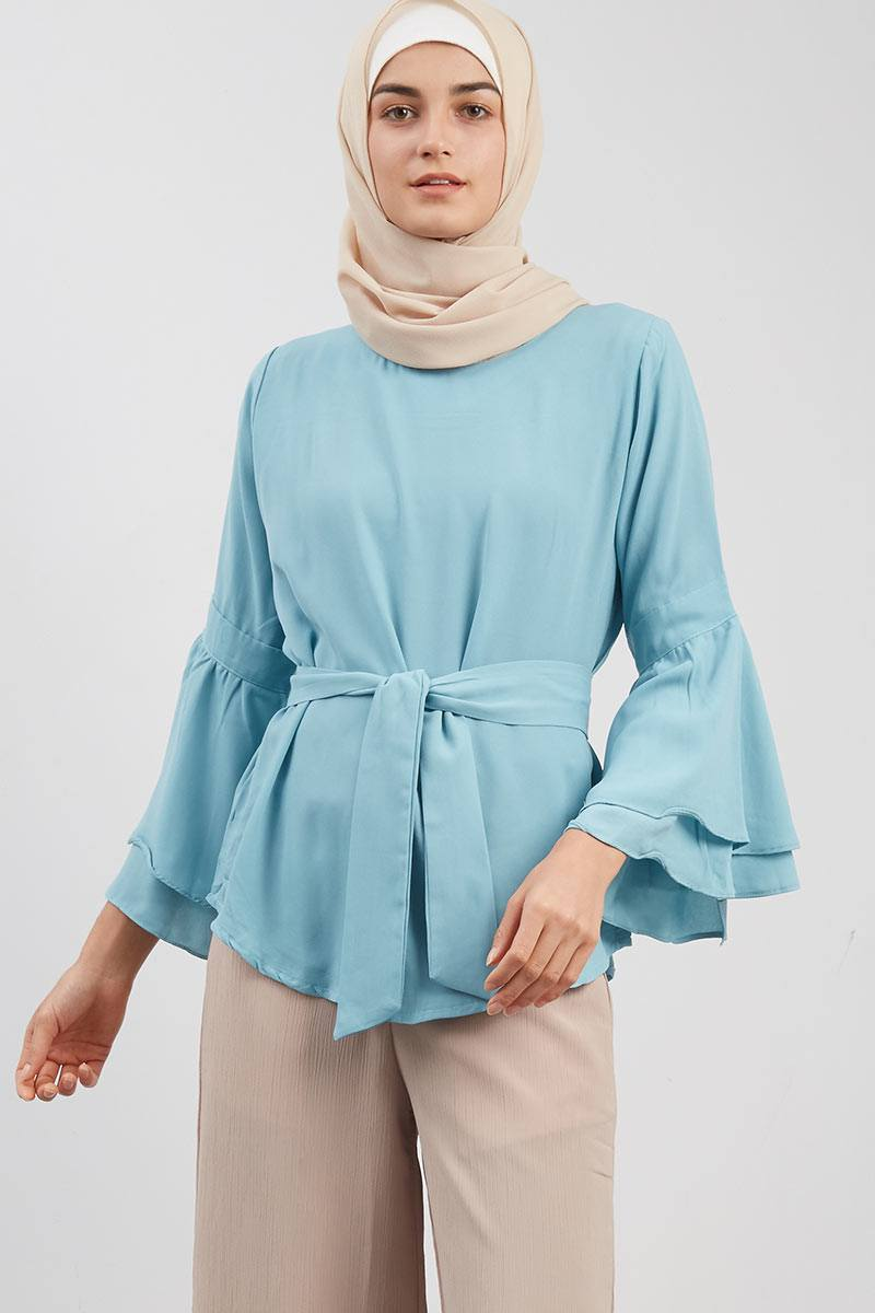 Bell Sleeved Blouse Tosca