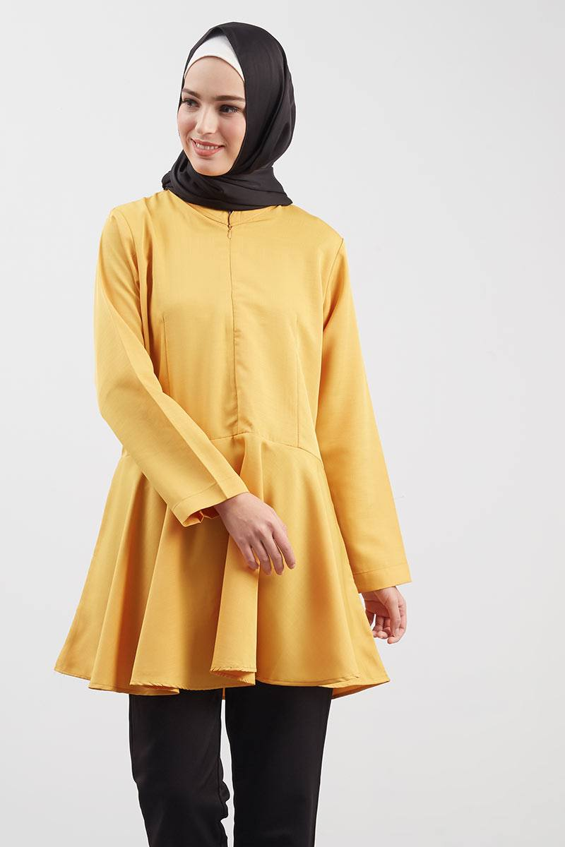 Simply Zipper Mustard