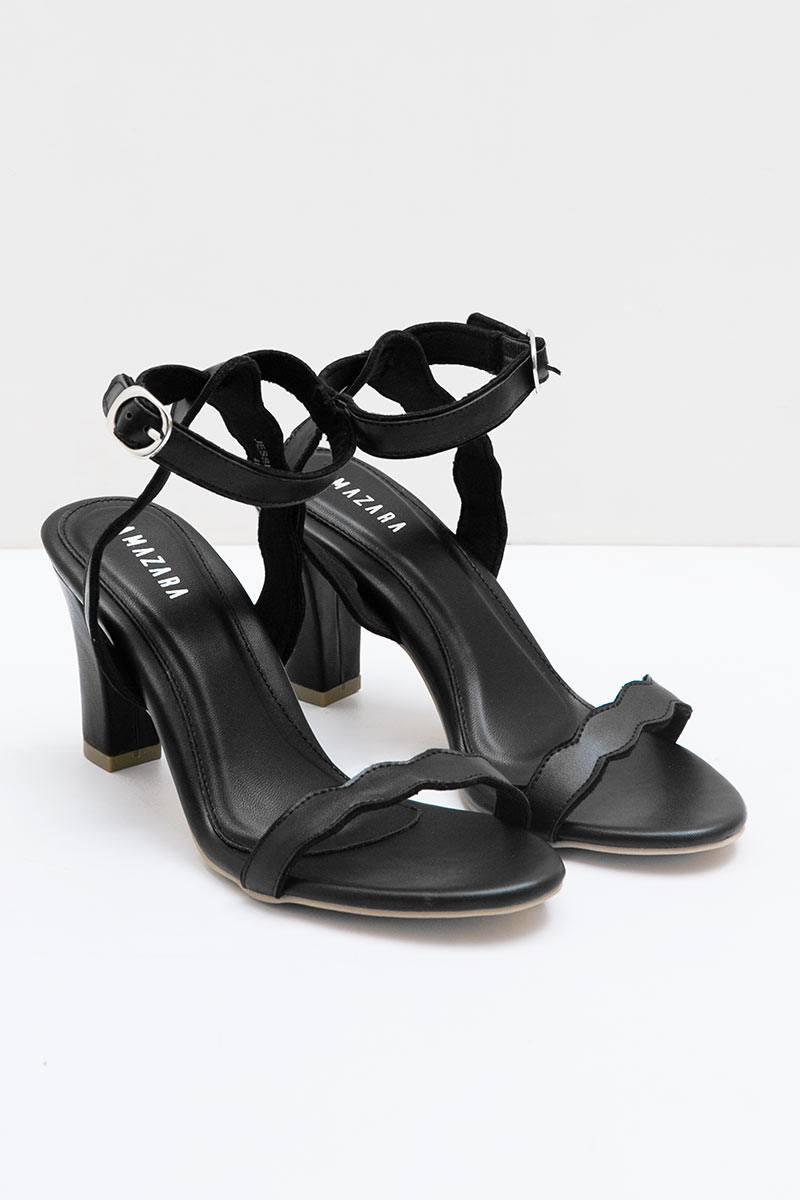 Black Jessica Heels