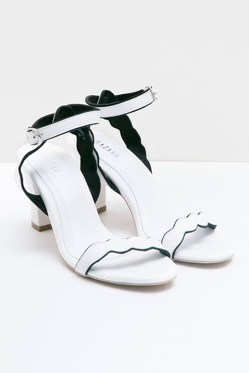 White Jessica Heels