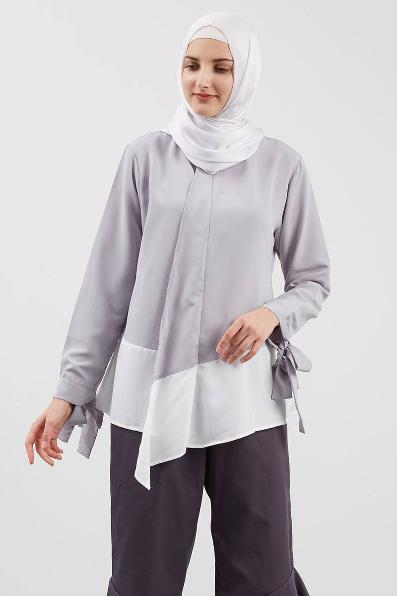 Kaelen Top Grey