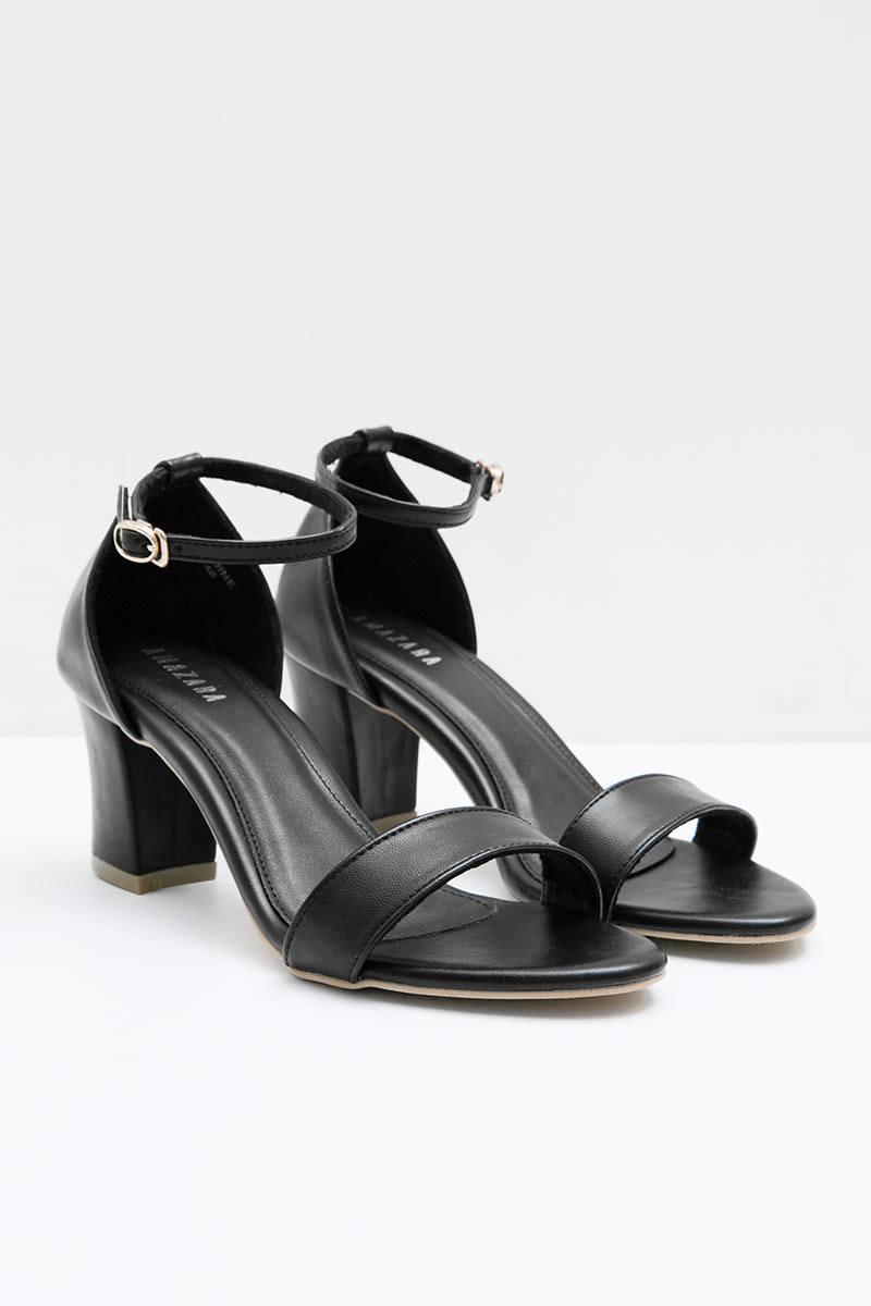 Black Nadine Heels