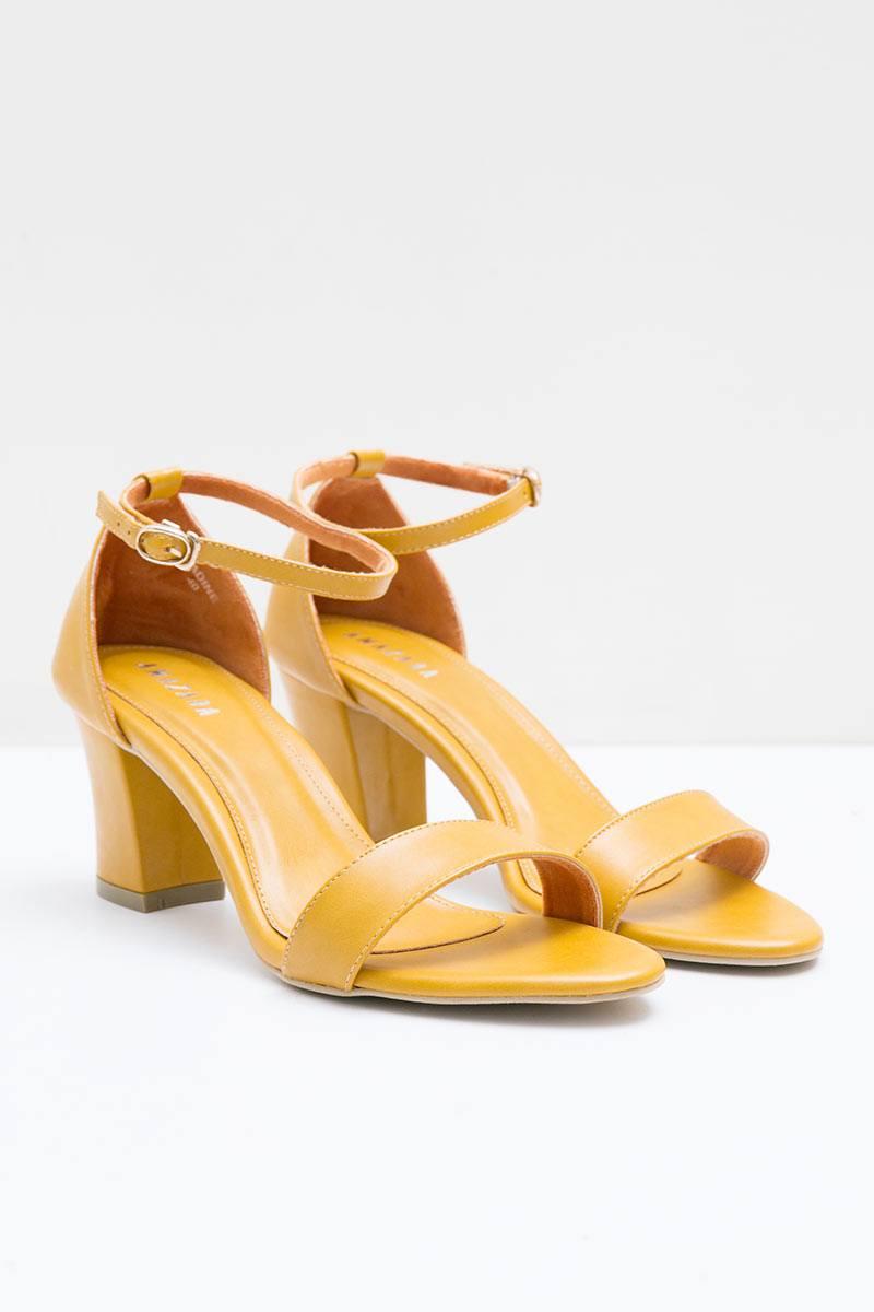 Mustard Nadine Heels